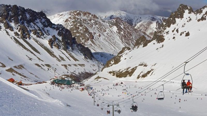 Como é a estação de esqui La Hoya