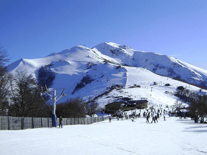 Como é a pista de esqui Cerro Bayo