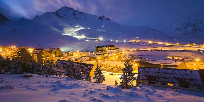 Como é a pista de esqui Las Leñas