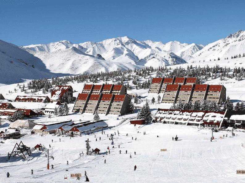 Centro de Esqui Las Lenas em Mendoza, Argentina
