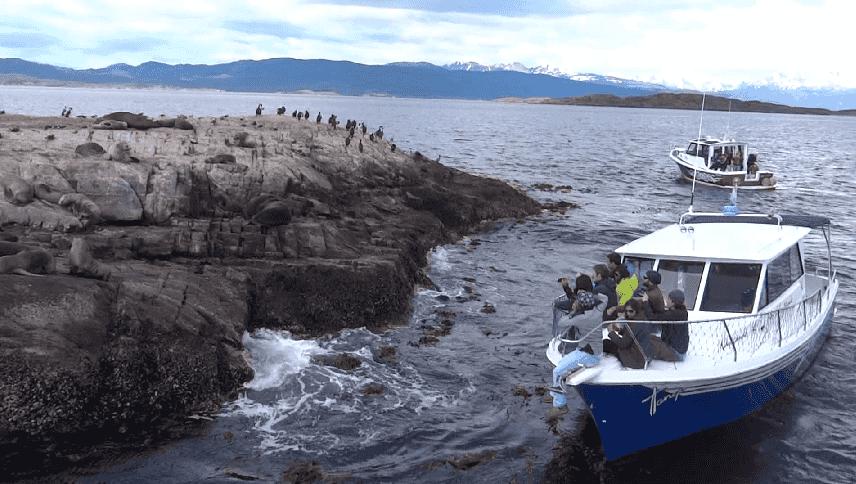 Pontos turísticos da Terra do Fogo na Argentina