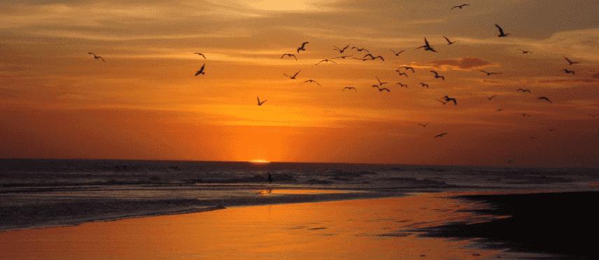 Praia Reta na Argentina