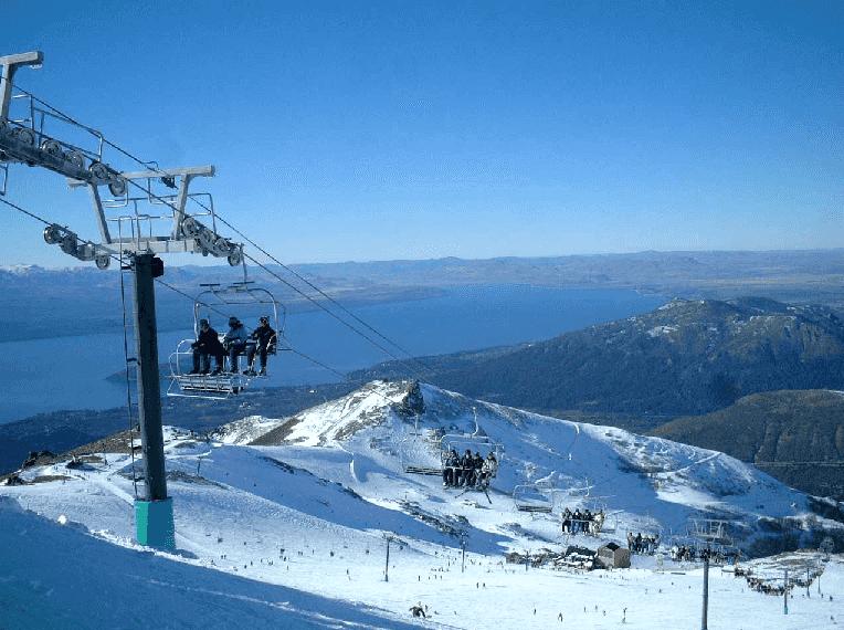 Pista de esqui Cerro Catedral em Bariloche