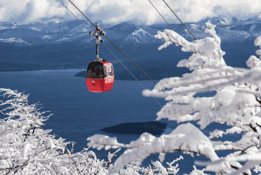 Cerro Otto na lua de mel em Bariloche