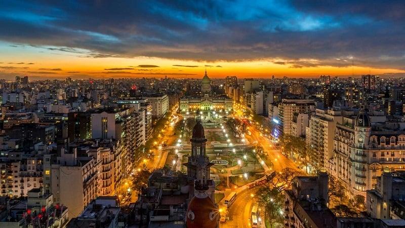 Fuso horário de Buenos Aires x Brasil
