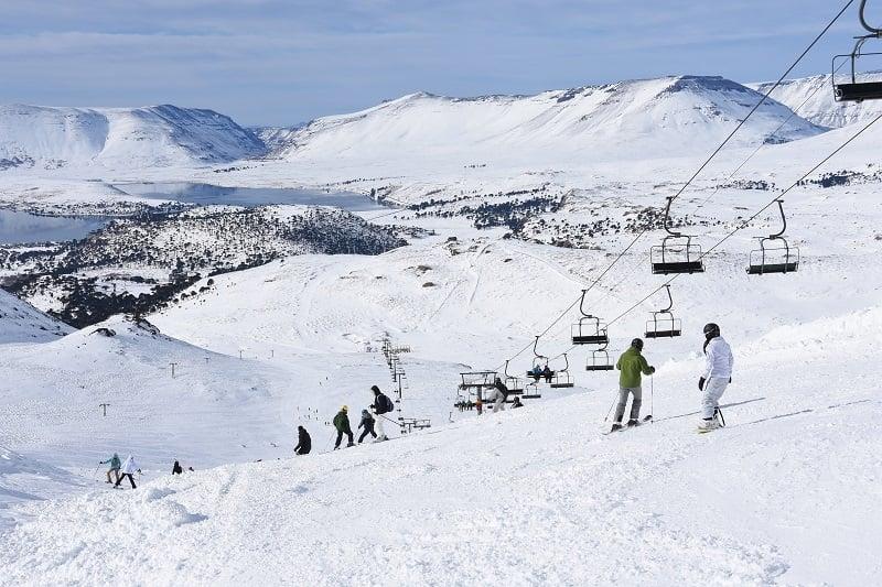 Onde é a estação de esqui Caviahue