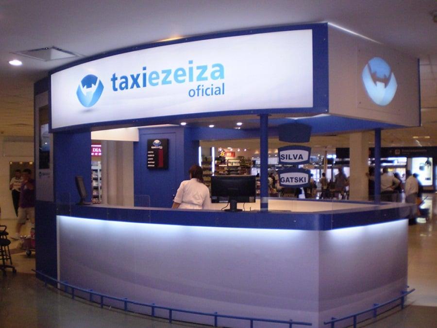 Como ir de táxi do Aeroporto de Ezeiza até o centro turístico de Buenos Aires