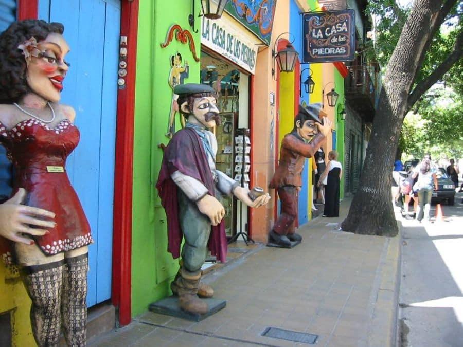 História da rua Caminito em Buenos Aires