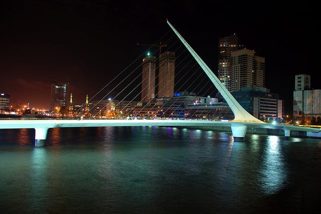 Passeio romântico por Puerto Madero em Buenos Aires