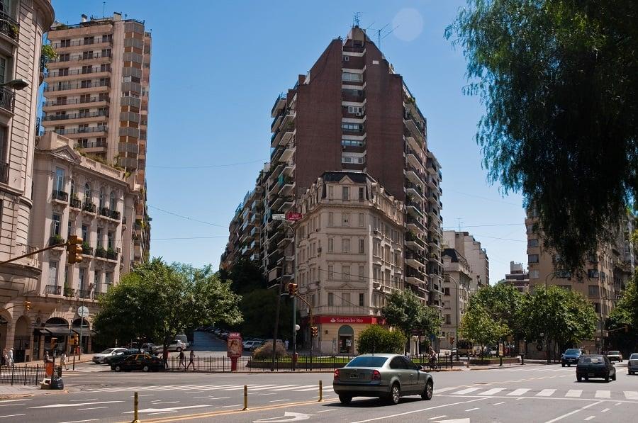 Bairro Recoleta em Buenos Aires