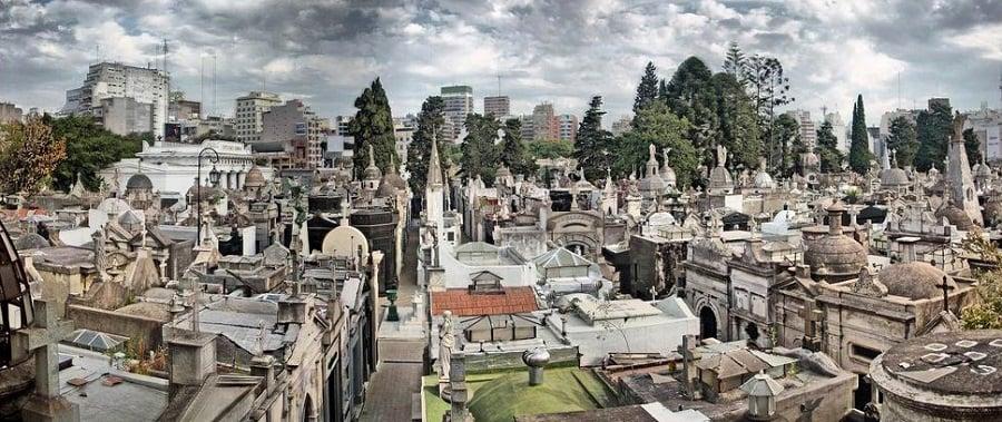 História do Cemitério da Recoleta