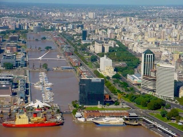 Bairro Puerto Madero em Buenos Aires