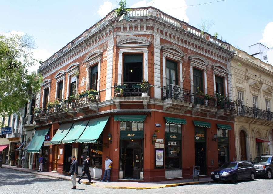 Bairro San Telmo em Buenos Aires