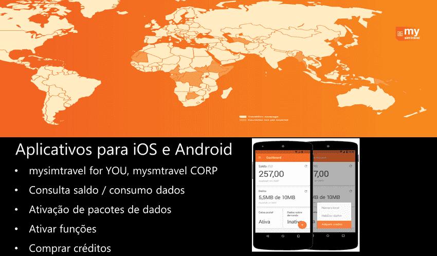 Aplicativo do Chip de celular para usar na Argentina : Mysimtravel