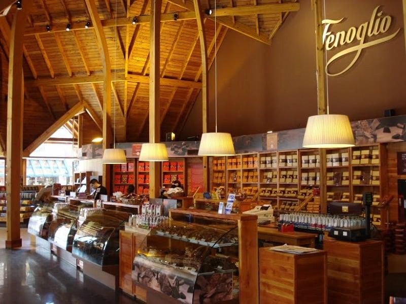 Loja de Chocolate Fenoglio em Bariloche