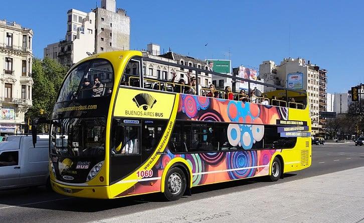 Passeio de ônibus turístico por Buenos Aires