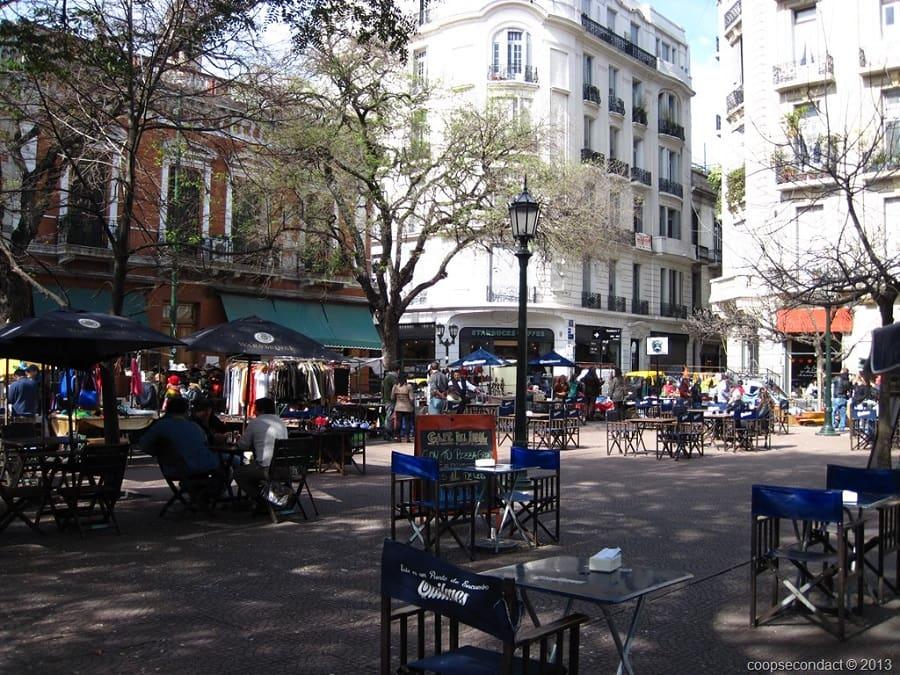 História da Plaza Dorrego