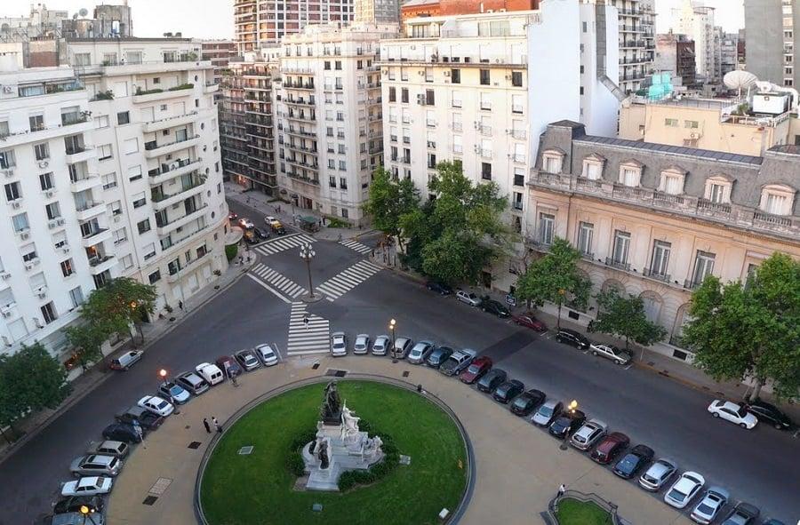 Avenida Alvear em Buenos Aires