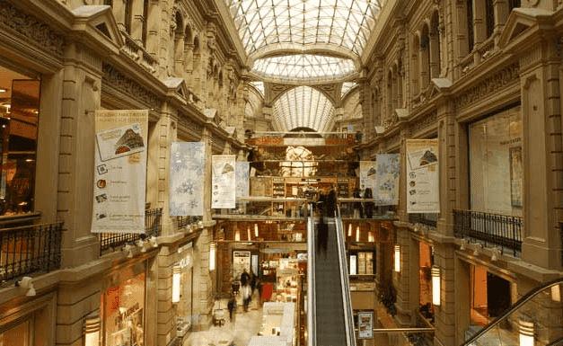 História e arquitetura da Galerías Pacífico