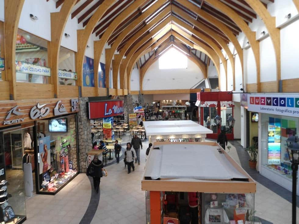Estrutura do Shopping Patagonia