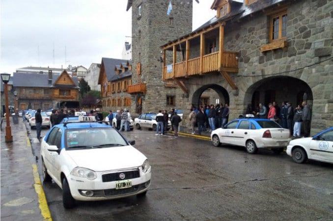 Gorjeta nos táxis em Bariloche