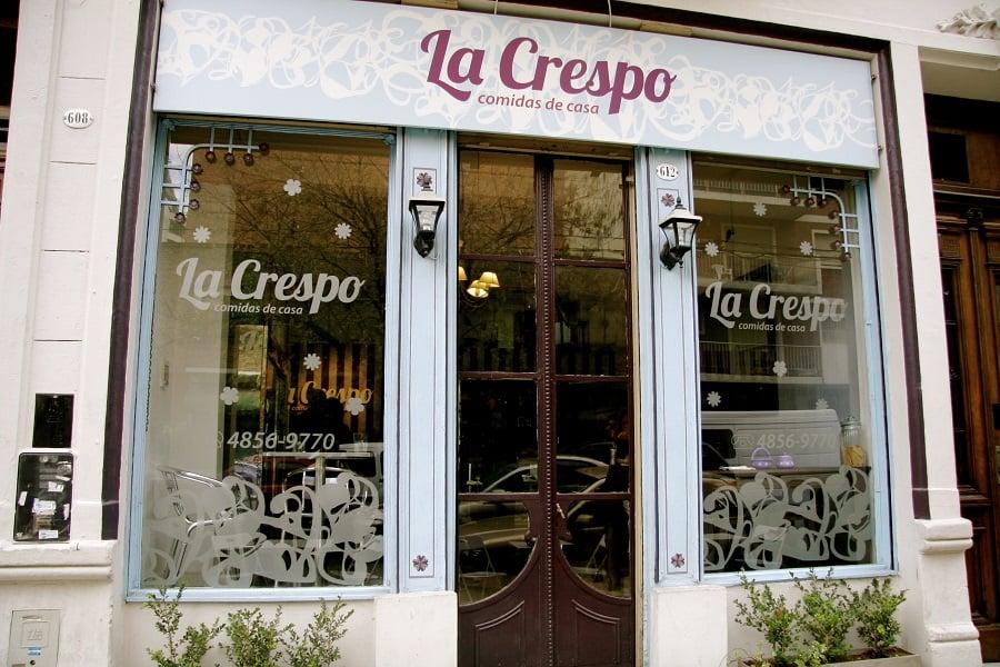 Restaurante La Crespo na Villa Crespo