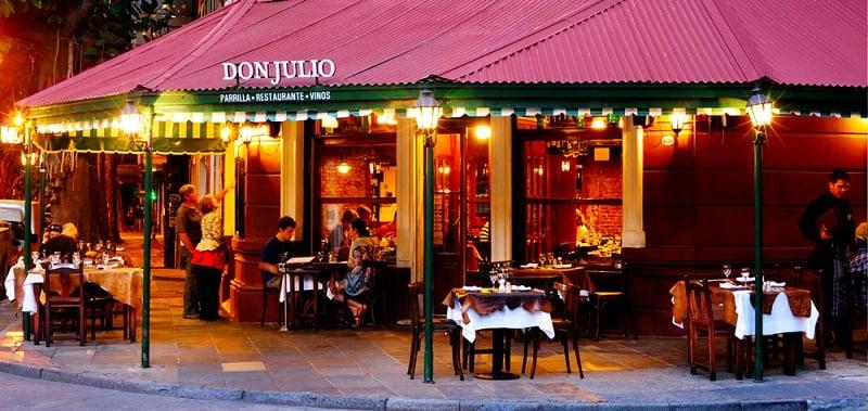 Restaurante Don Julio em Palermo