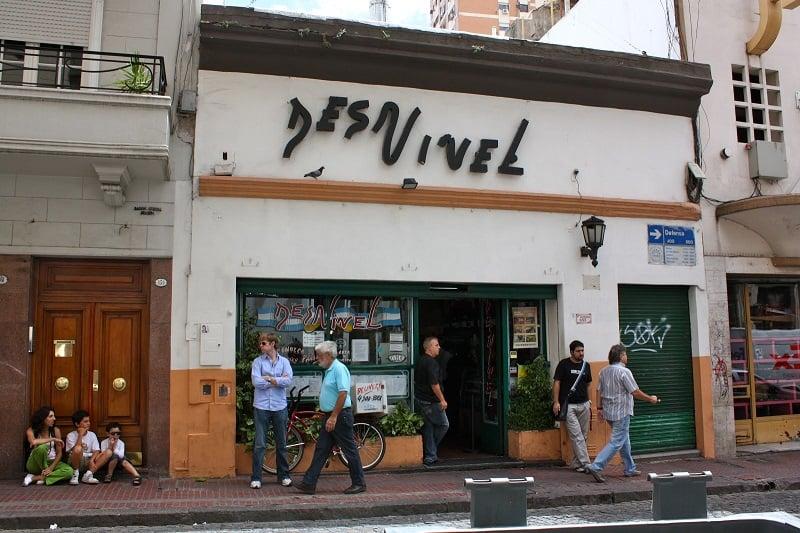 Restaurante El Desnível em San Telmo
