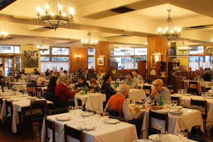 Restaurante El Imparcial no centro de Buenos Aires