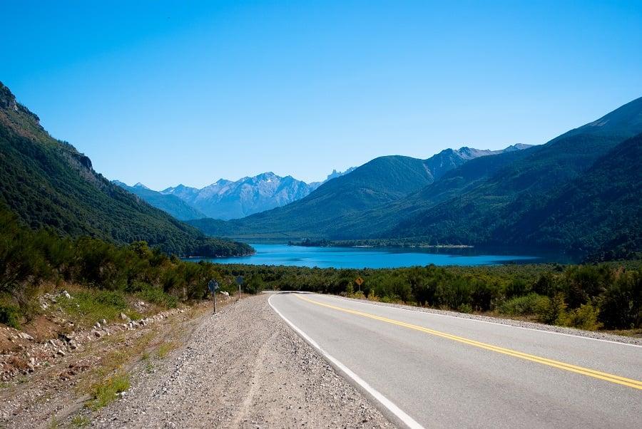 Lago Guillelmo em Bariloche