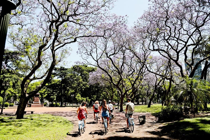 Clima em Buenos Aires no mês de outubro