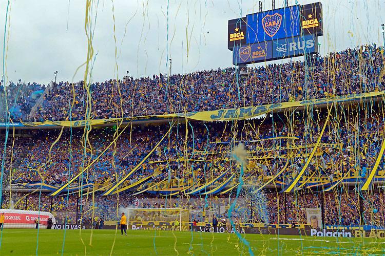 Estádios La Bombonera e Monumental de Nuñez