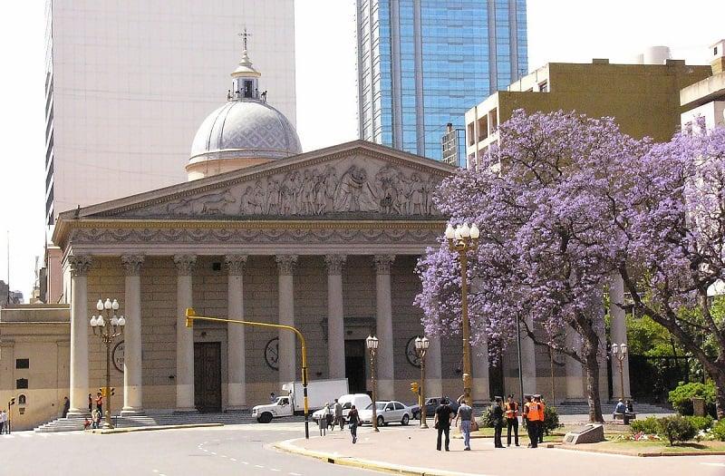 Plaza de Mayo em Buenos Aires no mês de janeiro