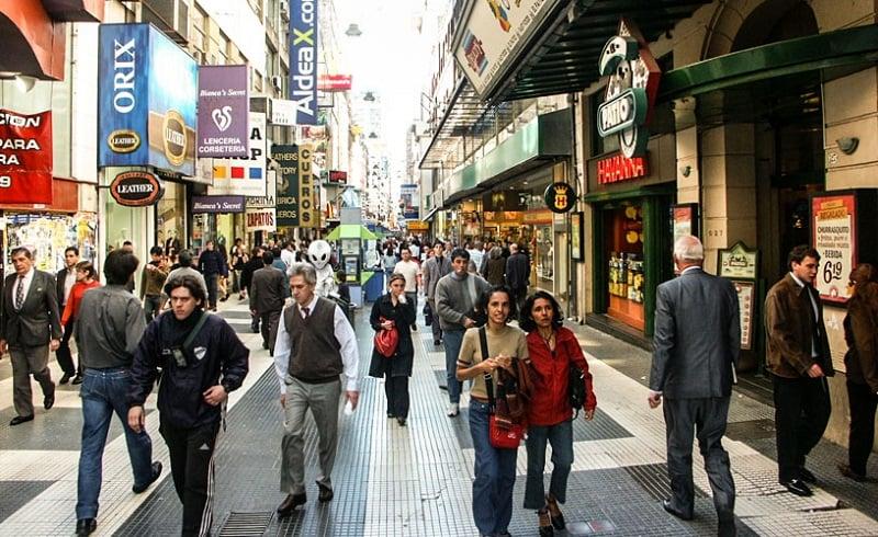 Compras em Buenos Aires no mês de abril
