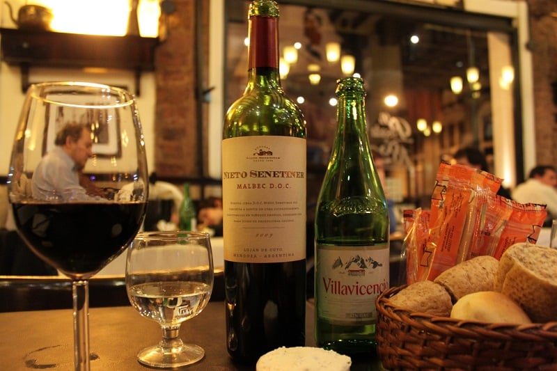 Degustação de vinhos em Buenos Aires no mês de abril