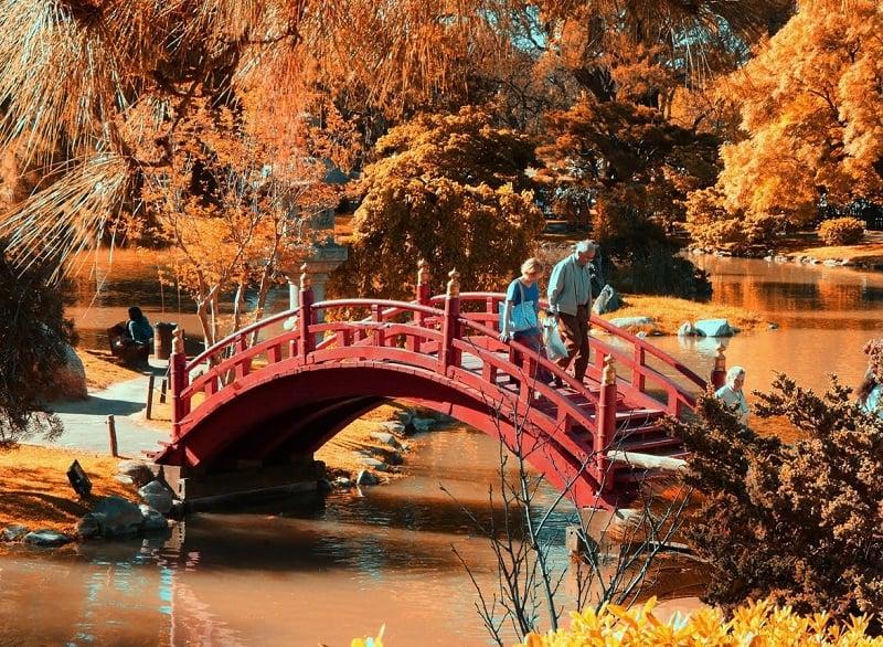 Conhecer o Jardim Japonês em Buenos Aires no mês de maio