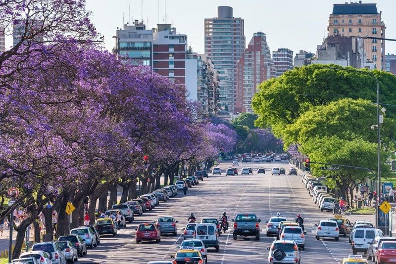 Mês de outubro em Buenos Aires