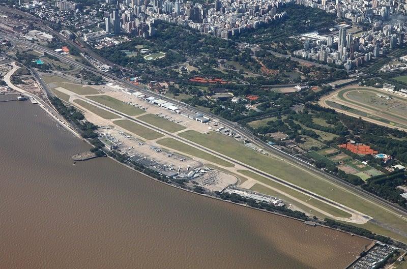 Sobre o aeroporto Jorge Newbery em Buenos Aires