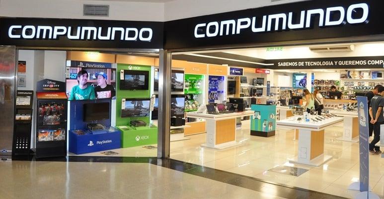 Lojas Compumundo em Buenos Aires