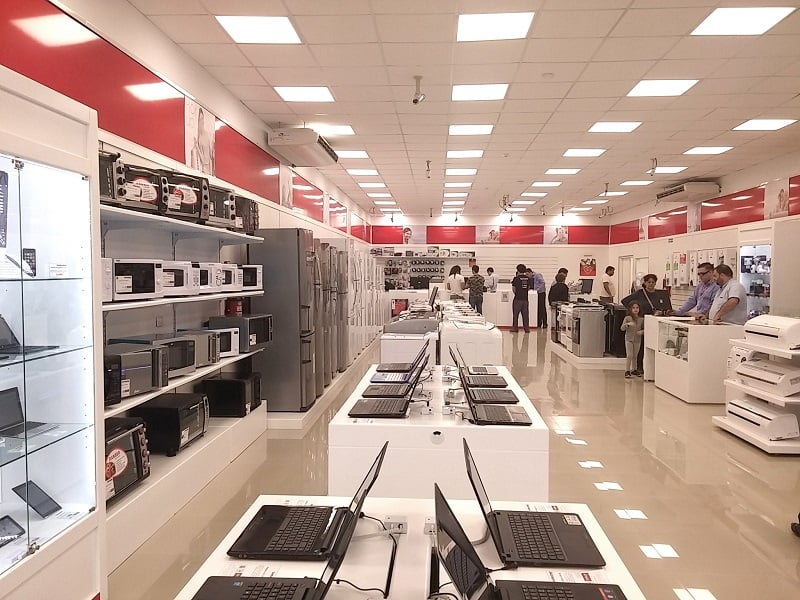 Onde comprar produtos da Apple em Bariloche: loja Garbarino