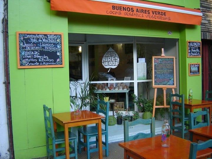 Restaurante vegetariano Buenos Aires Verde