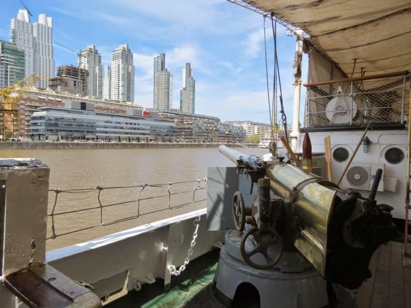 História do Barco Museu Fragata Sarmiento