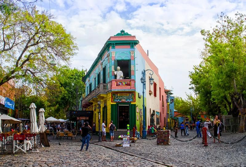 Passeios gratuitos em Buenos Aires: El Caminito