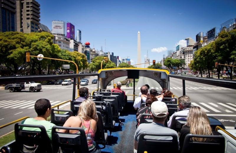 Como funciona o ônibus turístico em Buenos Aires