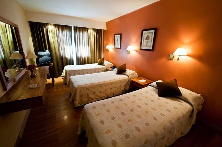 Hotéis no centro turístico de Bariloche