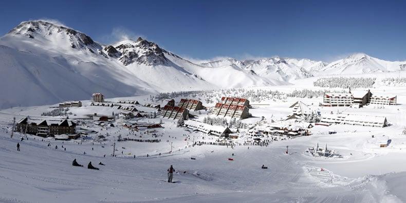 Pistas de esqui na Argentina