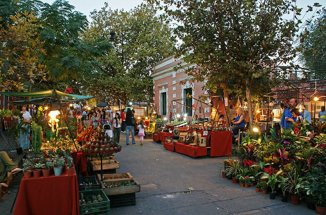 Paseo de las Artes em Córdoba, Argentina