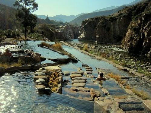Termas de Cachueta em Mendoza