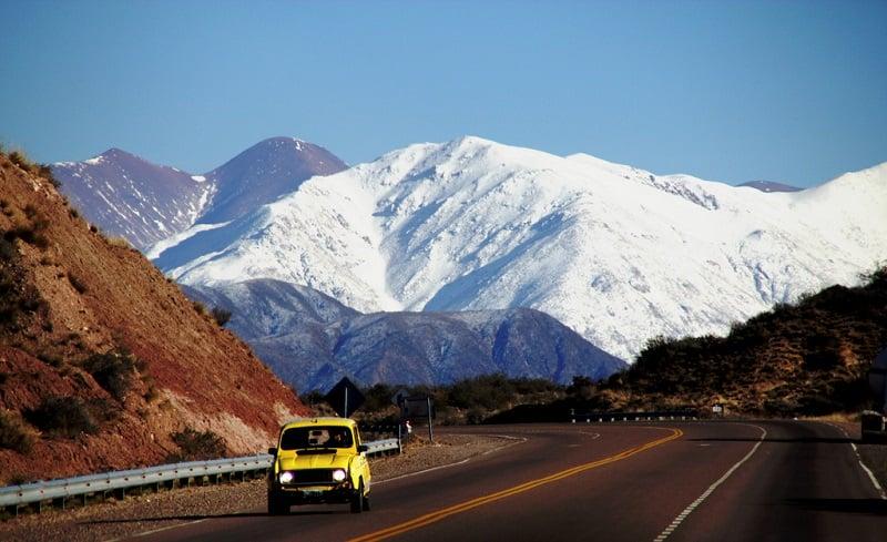 Aluguel de carro na Argentina