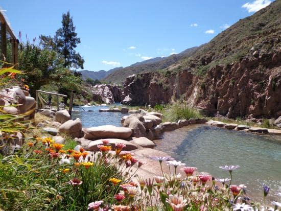 Termas de Cachueta em Mendoza na Argentina